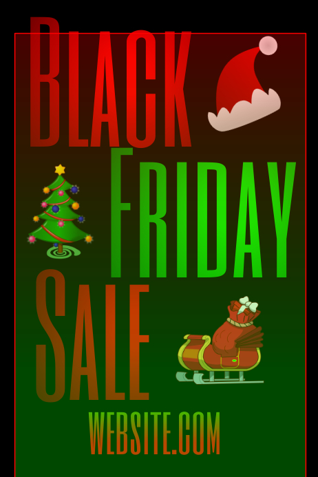 Black Friday Sale template | PosterMyWall