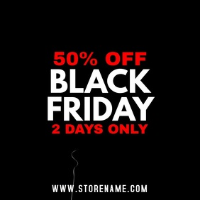 Black Friday Sale Retail Video Template