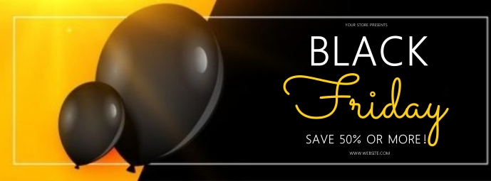 black friday SALE SQUARE POST TEMPLATE Fotografia de capa do Facebook