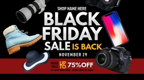 Black Friday Sale Twitter Post