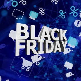 Black Friday Sale Video % Discount Special Ad