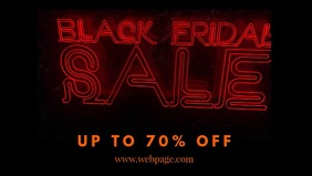 Black Friday Sale Video Ad Offer Template