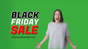 Black Friday Sale Video Cover Happy Creaming