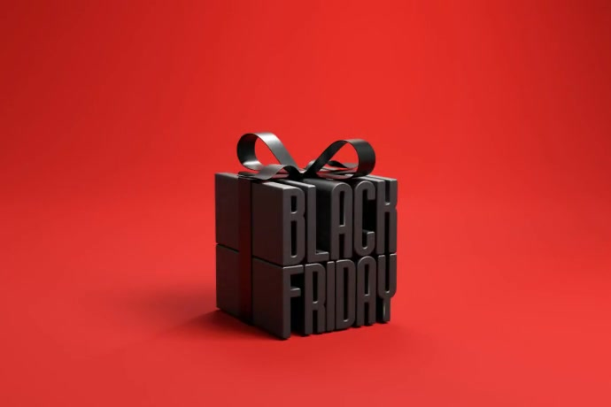 BLACK FRIDAY SALE VIDEO Cartaz template
