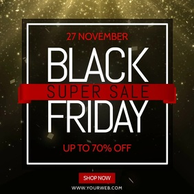 Black Friday Sale Video Template