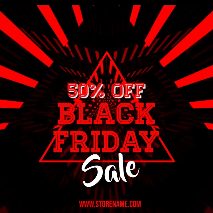 Black Friday Sale Video Instagram Template