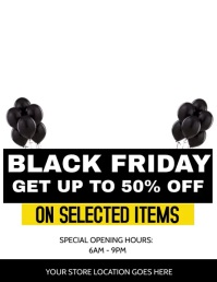 Black Friday Special Flyer ad Template