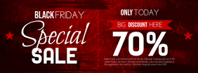 Black Friday Special Sale Facebook Cover