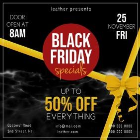Black Friday Specials Square Video