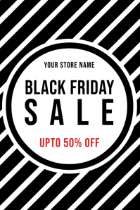 BLACK FRIDAY STORE BANNER POSTER FOR SALE
