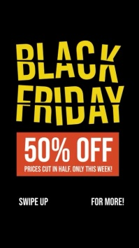 Black Friday Story Template Instagram-verhaal