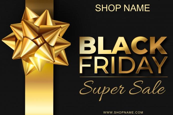 Black Friday Template 海报