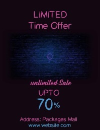 Black Friday Template Pamflet (Letter AS)
