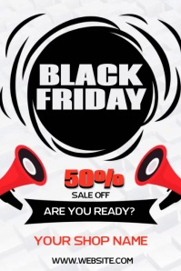 BLACK FRIDAY VIDEO POSTER AD SOCIAL MEDIA