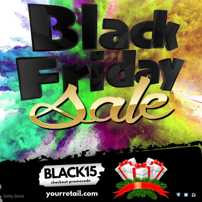 Black Friday Video Template