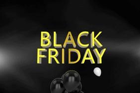 Black Friday Video Template Плакат