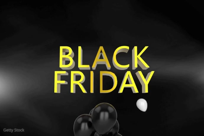 Black Friday Video Template Poster