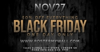 Black Friday White Facebook Post Sale template