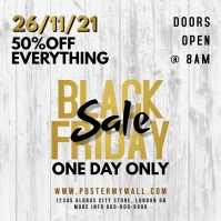 Black Friday White Gold Flyer
