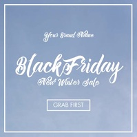 Black Friday Winter Sale Video Template