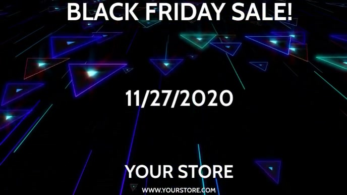 BLACK FRIDAY with optional sound effect Umbukiso Wedijithali (16:9) template