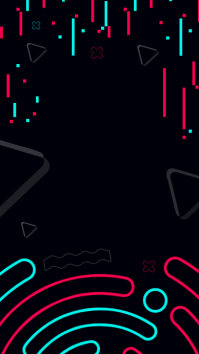 Black Funky Tiktok Background Image Instagram-verhaal template