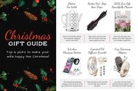 Black Gift Guide for Her Flyer