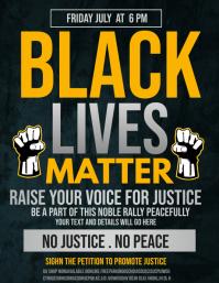 Black history,Black lives,social issues, Flyer (format US Letter) template