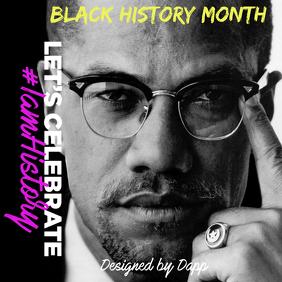 black history Instagram Post template