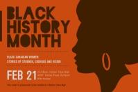 Black History Diversity Poster