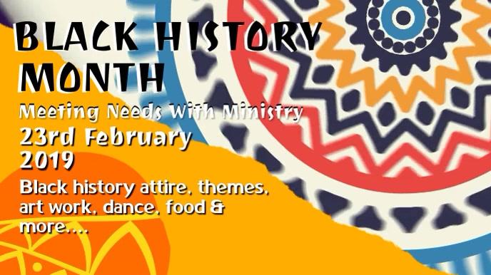 Black History Event Promo Video Template