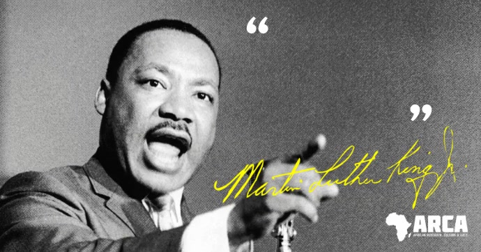 Black History Martin Luther King facebook template