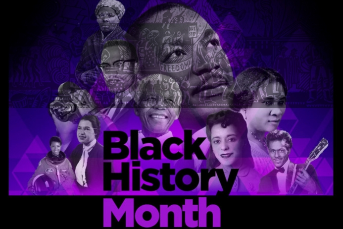 BLACK HISTORY MONTH, BLACK Poster template