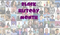 BLACK HISTORY MONTH, BLACK Tag template