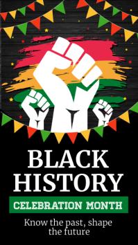 black history month, black lives matter template