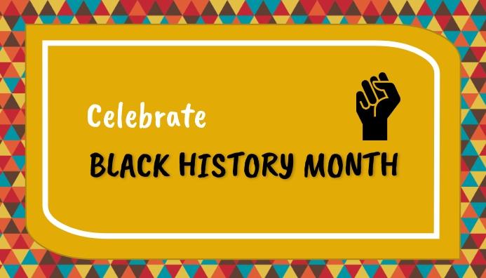 black history month,event Blog Header template