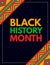 black history month,event flyers