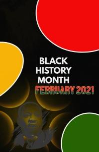 black history month,Mlk Tabloid template