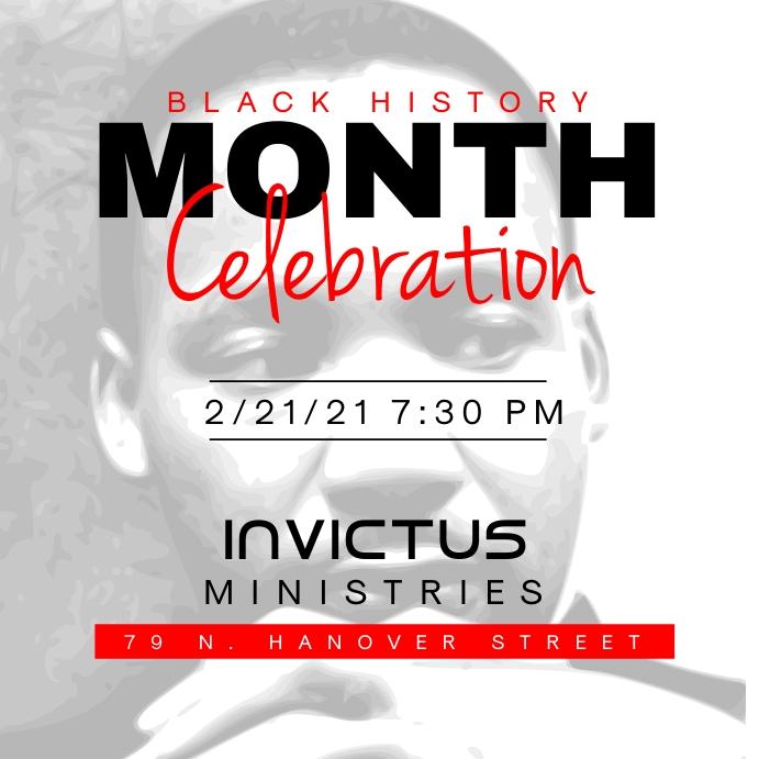Black History Month Celebration Publicación de Instagram template
