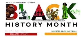 Black History Month Cultural Event facebook