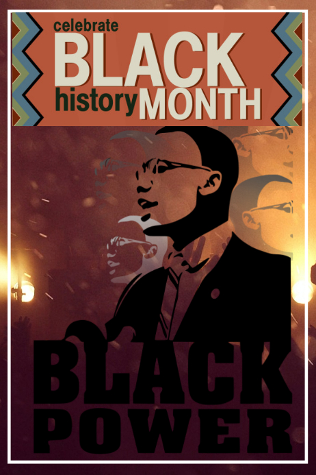 Black History Month Iphosta template