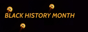 Black history month Facebook-coverfoto template