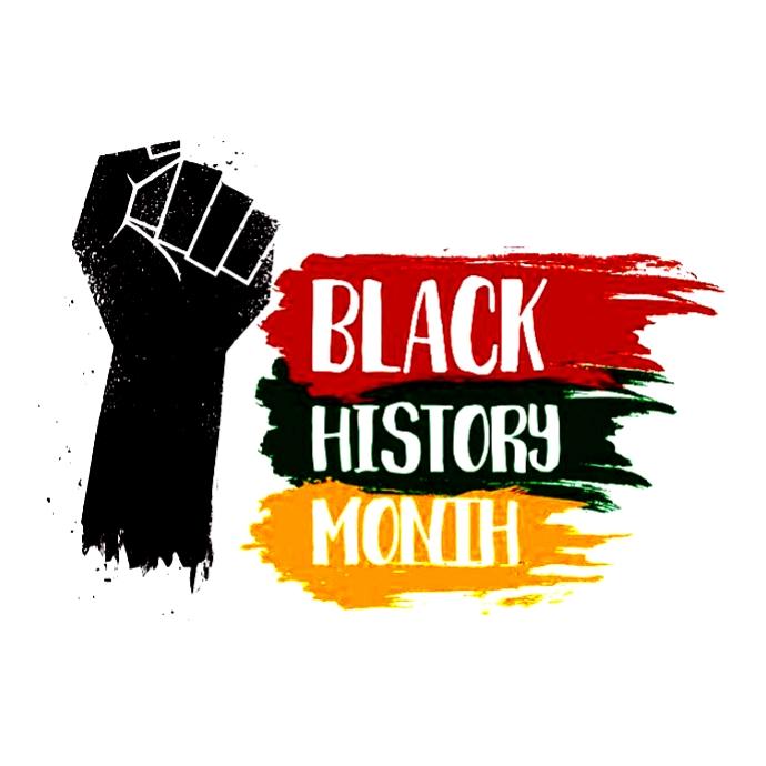 BLACK HISTORY MONTH 徽标 template