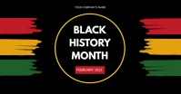 Black History Month delt Facebook-billede template
