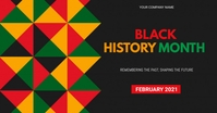 BLACK HISTORY MONTH Facebook Shared Image template