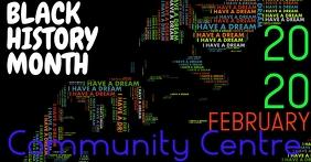 black history month Gambar Bersama Facebook template