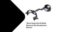 black history month Pantalla Digital (16:9) template