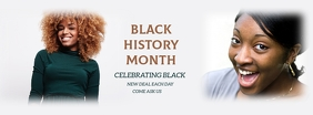 BLACK HISTORY MONTH FLYER Facebook 封面图片 template