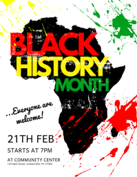 1 590 customizable design templates for black history month