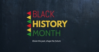 black history month flyers Facebook Gedeelde Prent template
